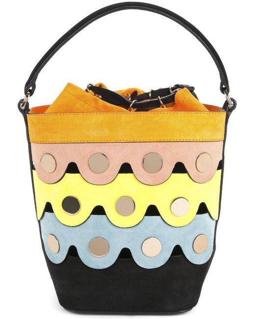 Pierre Hardy | Yellow Penny Lace Bucket Bag | Lyst