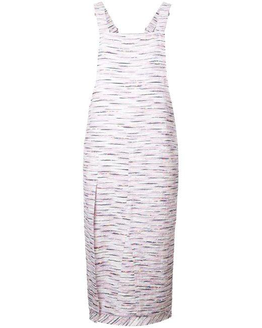 Julien David - Multicolor Salopette Dress - Lyst