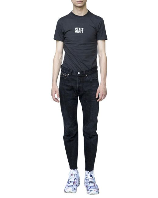 Vetements | Black X Levi's Denim for Men | Lyst