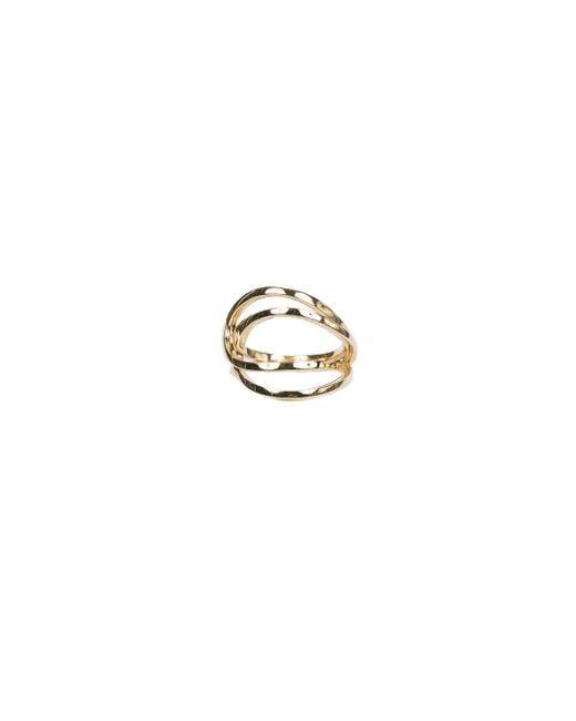 Repossi - Metallic La Ligne C Double-hoop Ring - Lyst