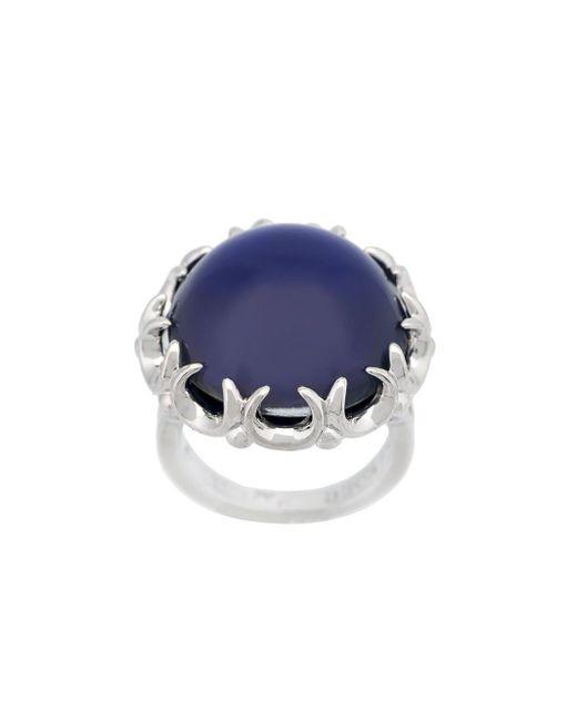 Eddie Borgo - Blue 'dhalia' Mood Ring - Lyst