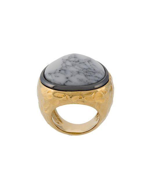 Aurelie Bidermann - Metallic Untitled Ring - Lyst