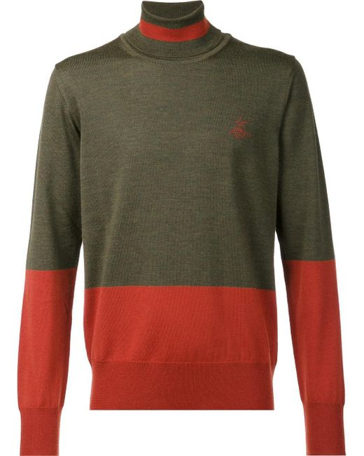Vivienne Westwood - Multicolor Rollneck Sweater for Men - Lyst