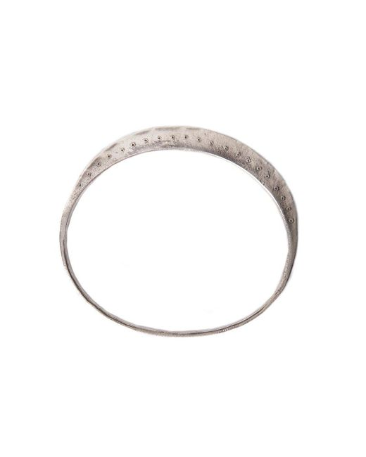 Henson - Metallic Bangle With Dots - Lyst