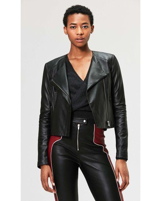 VEDA - Dali Orion Leather Jacket Black - Lyst