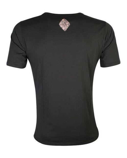 Y-3 - Diesel Charcoal Black T-lut Galaxy Skull T-shirt for Men - Lyst