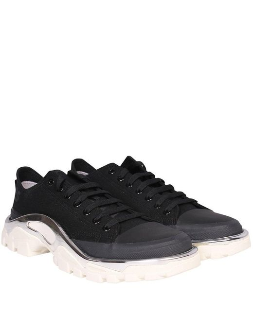 size 40 94cb0 4773a Raf Simons - Adidas X Detroit Runner Trainers Black for Men - Lyst ...