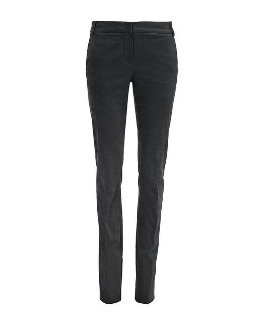 Tibi | Black Moleskin Skinny Pants | Lyst