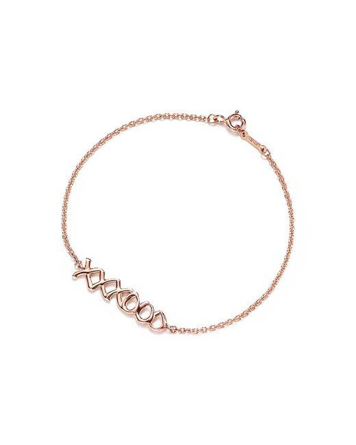 Tiffany & Co - Metallic Love & Kisses Bracelet - Lyst