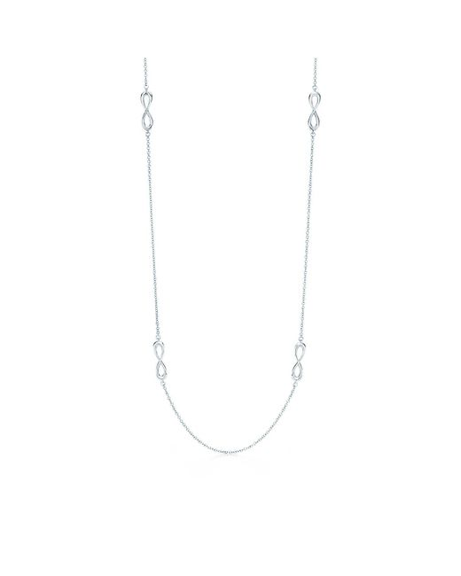 Tiffany & Co | Metallic Endless Necklace | Lyst