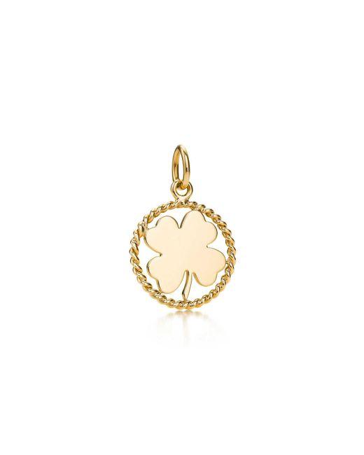 Tiffany & Co   Metallic Clover Charm   Lyst