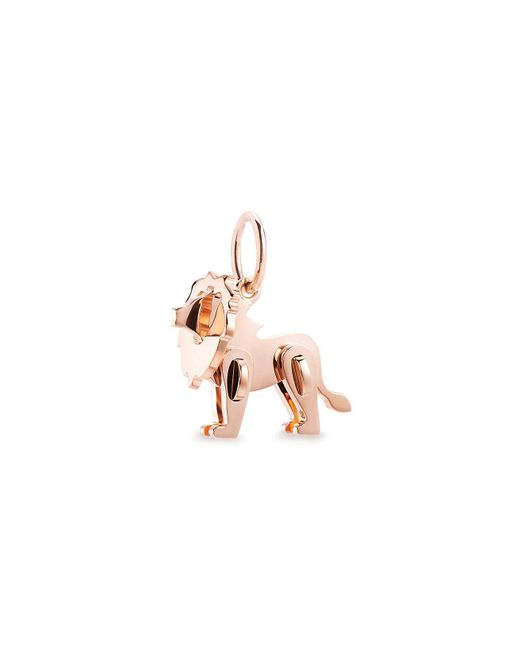 Tiffany & Co - Pink Tiffany Save The Wild Lion Charm In 18k Rose Gold, Mini - Lyst