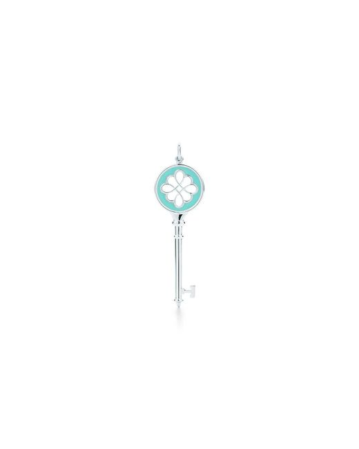 Tiffany & Co | Metallic Knot Key Pendant | Lyst
