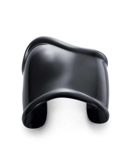 Tiffany & Co | Black Bone Cuff | Lyst