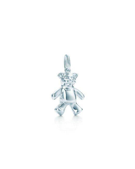 Tiffany & Co - Blue Teddy Bear Charm - Lyst