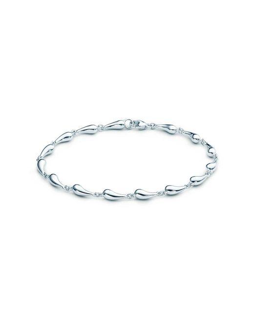 Tiffany & Co - Metallic Teardrop Bracelet - Lyst
