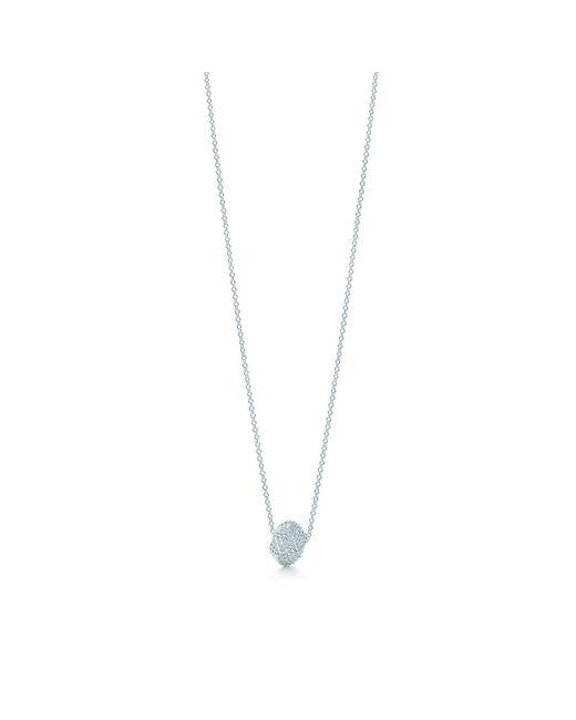 Tiffany & Co - Metallic Knot Pendant - Lyst