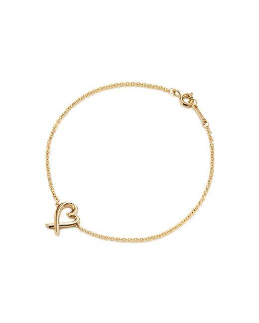 Tiffany & Co | Metallic Loving Heart Bracelet | Lyst
