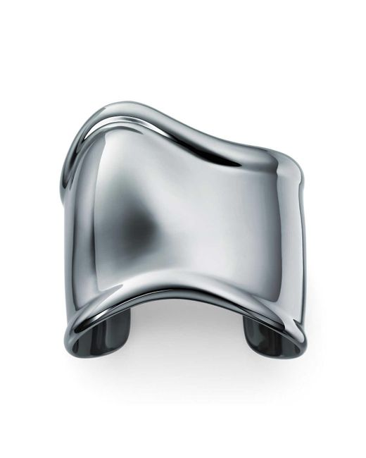 Tiffany & Co - Gray Bone Cuff - Lyst