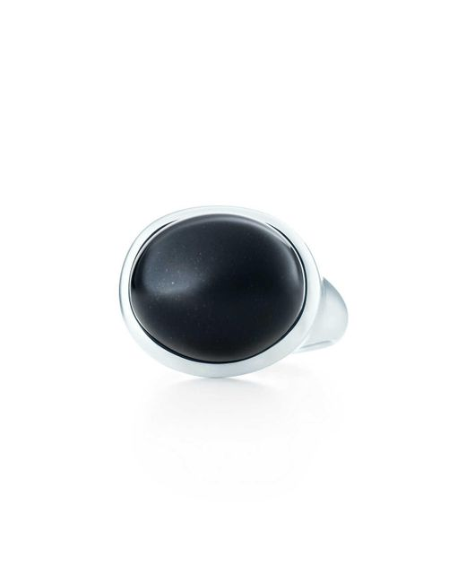 Tiffany & Co | Metallic Cabochon Ring | Lyst