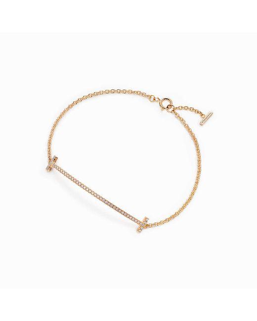 Tiffany & Co | Metallic Smile Bracelet | Lyst
