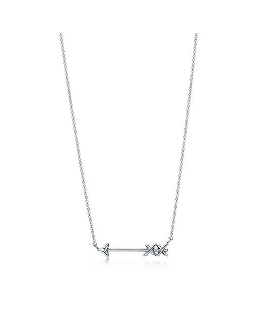 Tiffany & Co - Metallic Arrow Pendant - Lyst