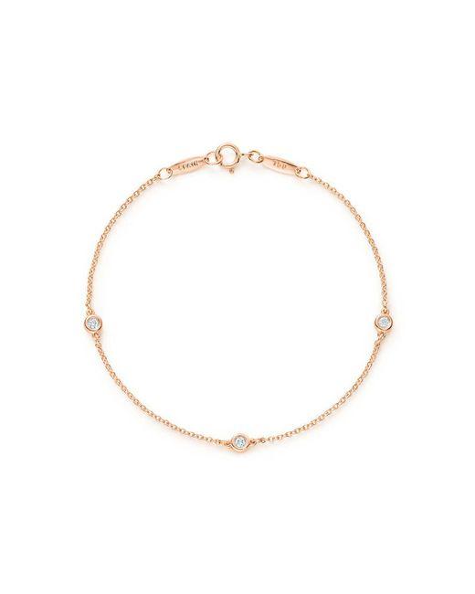 Tiffany & Co - Metallic Diamonds By The Yard® Bracelet - Lyst