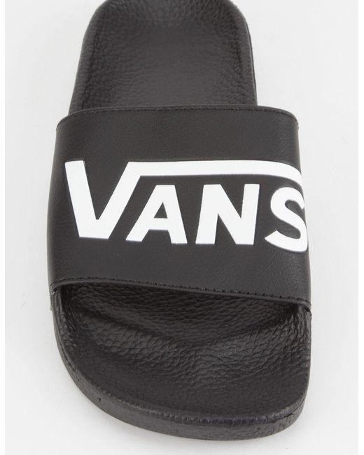 7aa09411c40d5f ... Vans - Black Slide-on - Lyst ...