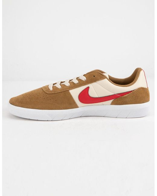 d57ae078a0487 ... Nike - Multicolor Team Classic Golden Beige & University Red Mens Shoes  for Men ...
