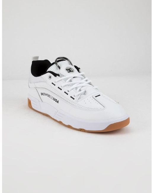 f20a105525b1 DC Shoes Legacy 98 Slim White Mens Shoes in White for Men - Lyst