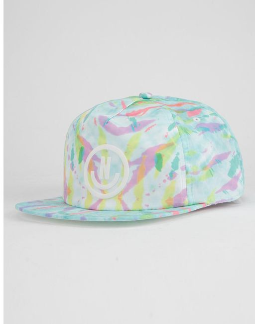 Neff - Blue Wavy Decon Mens Snapback Hat for Men - Lyst