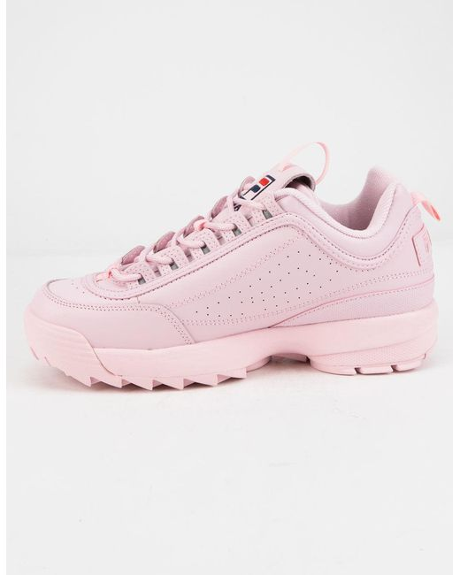 693c5937a1fb ... Fila - Disruptor 2 Embroidery Pink Womens Shoes - Lyst ...