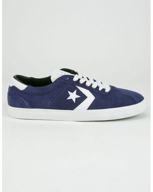 5d2af359b9e Converse - Blue Breakpoint Pro Suede Shoes for Men - Lyst ...