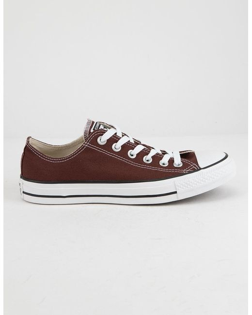 34e4f17f04a Converse - Brown Chuck Taylor All Star Seasonal Color Low Top - Lyst ...