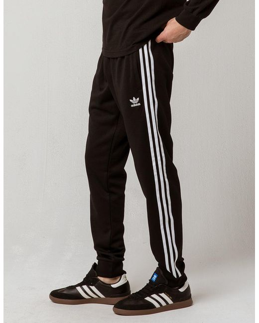 Lyst Adidas Originals Side Stripe Mens Track Pants In