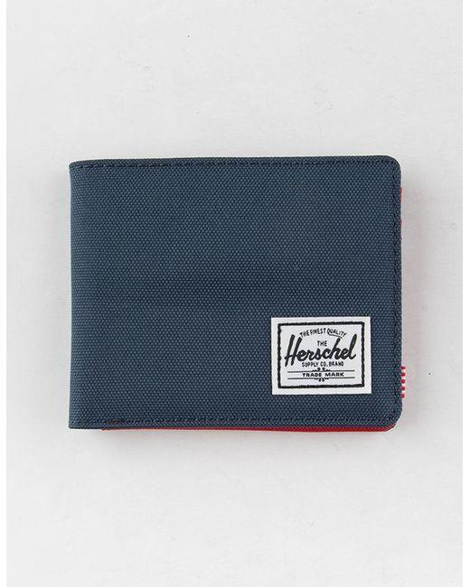 Herschel Supply Co. - Blue Roy Navy Wallet - Lyst