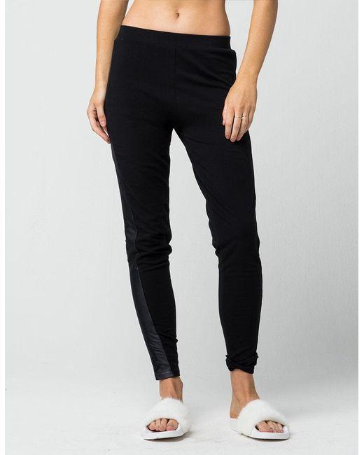 86d59b419808 ... Fila - Black Lia Womens Leggings - Lyst ...