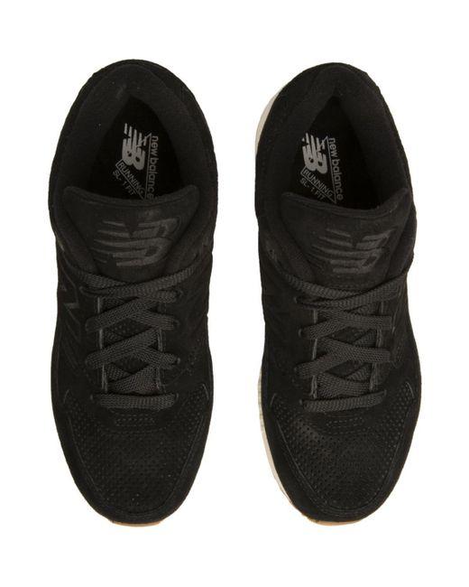 0f6eb9f432 Women's 530 Lux Black Suede Sneakers