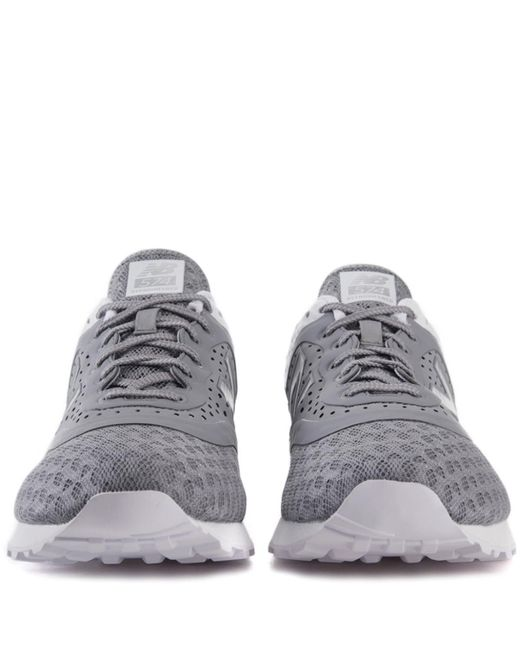 8180e6c23d8 ... New Balance - Gray 574 Re-engineered Breathe Grey Sneakers for Men -  Lyst ...