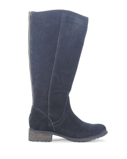 697b7240061 ... Ugg - Seldon Black Suede Tall Boot - Lyst ...
