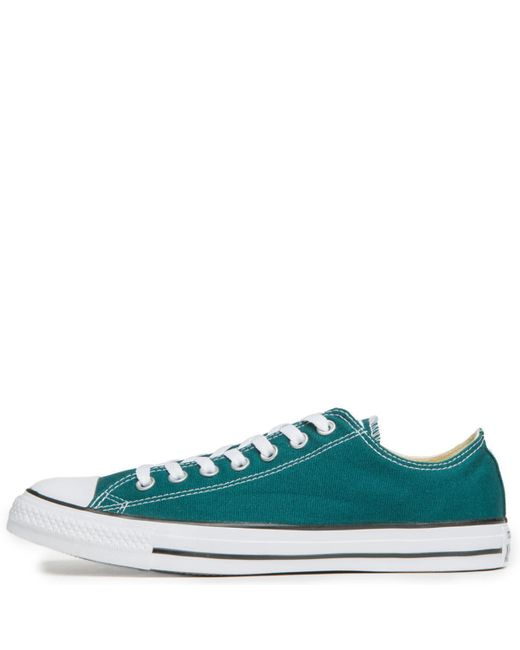 d3516918fff1 Converse - Multicolor Unisex Chuck Taylor All Star Ox Teal Sneaker for Men  - Lyst ...