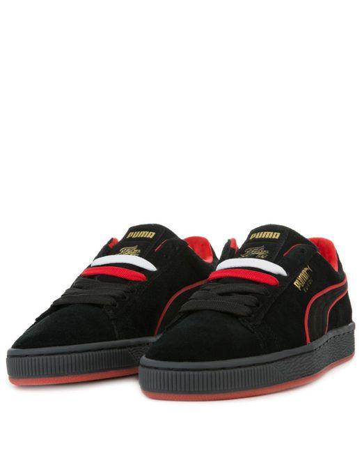 Lyst - PUMA X Fubu Suede Jr (gs) in Black for Men - Save 25% 8764ccbad