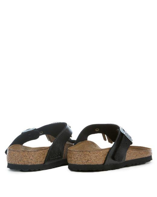 29bb6e683881 ... Birkenstock - Multicolor Gizeh Graceful Licorice Fringe Sandals - Lyst  ...