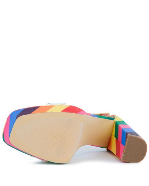 7cfced5295d0 ... LILIANAS SHOES - Multicolor Yuko-40 Platform Heels - Lyst ...