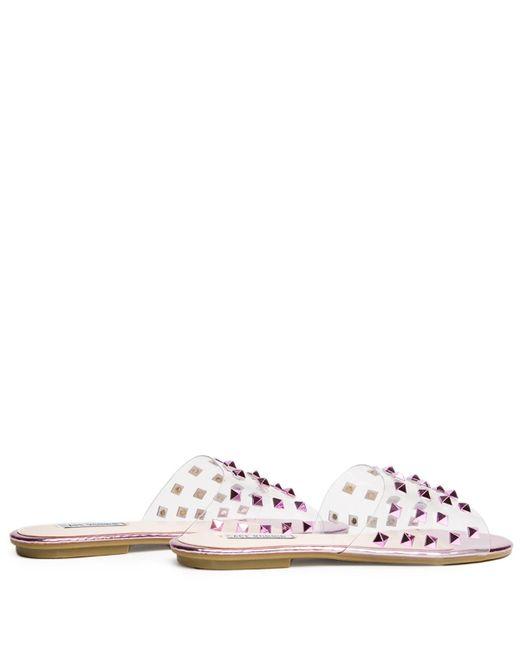 4daff6413 ... Cape Robbin - Sadie-1 Pink Slides - Lyst ...