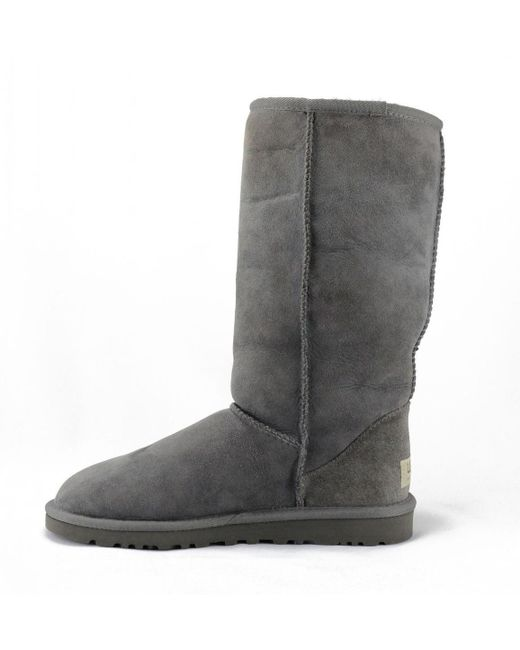 Ugg | Gray Classic Tall Grey Boots | Lyst ...