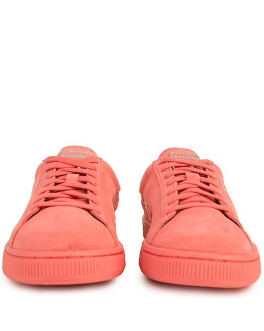 f6180a565b0 ... PUMA - Pink Suede Classic Mono Reptile for Men - Lyst