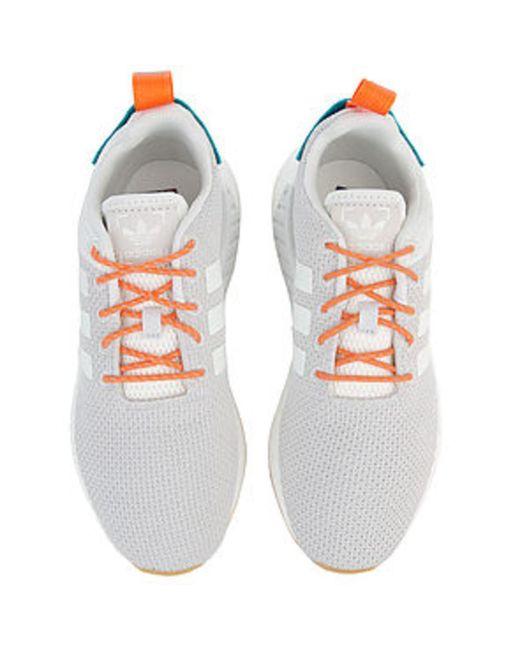 64dd495c239b4 ... Adidas - Gray The Nmd R2 Summer In White