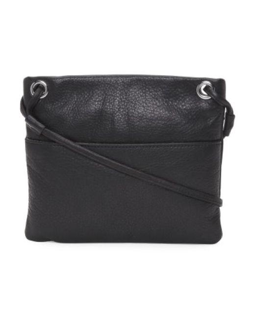 Tj Maxx   Black Mini Square Leather Crossbody   Lyst