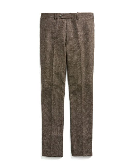 Todd Snyder | Sutton White Label Suit Pant In Brown Donegal Wool for Men | Lyst